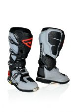 New 2020 Acerbis X-ROCK Boots Black Grey Motocross Enduro